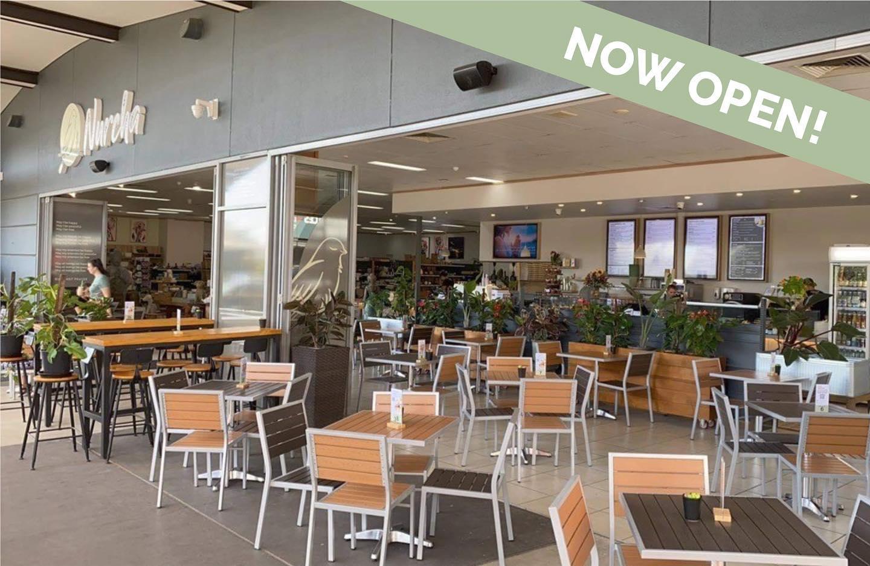 Nurcha Kawana vegan cafe and vegan bakery now open.