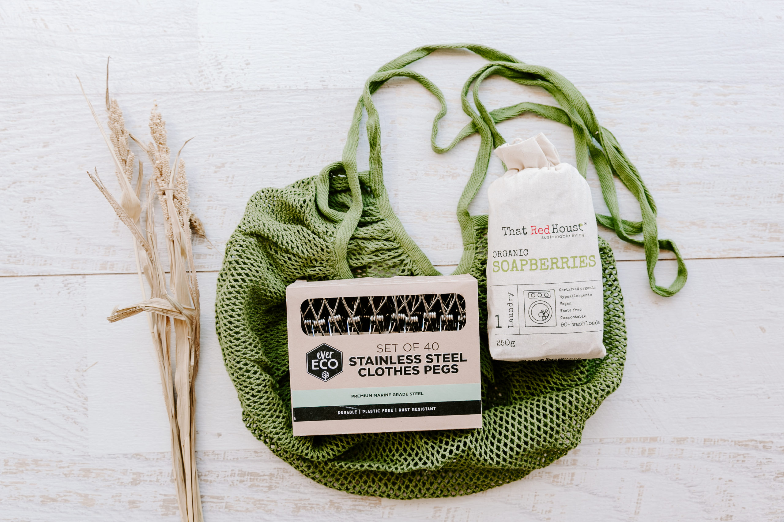 A sustainable vegan christmas gift concept